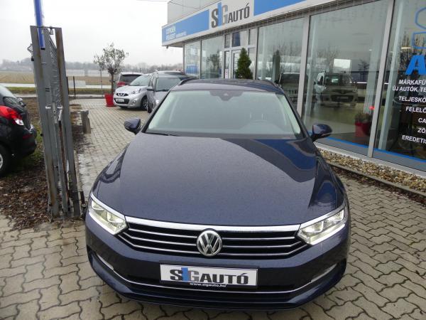 Volkswagen Passat VIII 2.0TDi DSG Park.As,Kamera,Led,Navi,Kőv,Rad,D.Klima