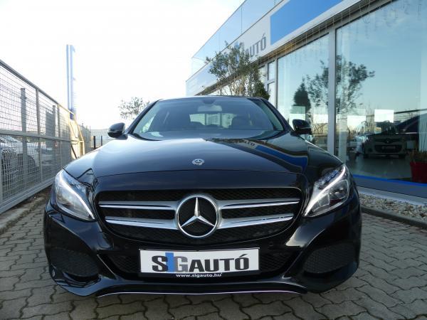Mercedes-Benz C200 Blue Tec d 7G-Tronic Led,Bőr,Kamera,Navi