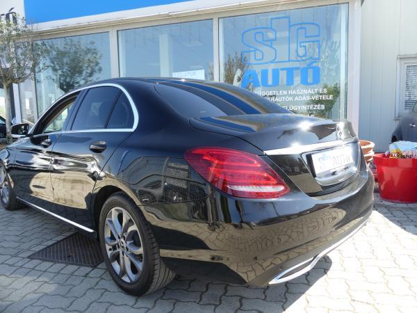 Mercedes -Benz  C 200 9G-Tronic Led,Kamera,Bőr,Navi,D.KLima