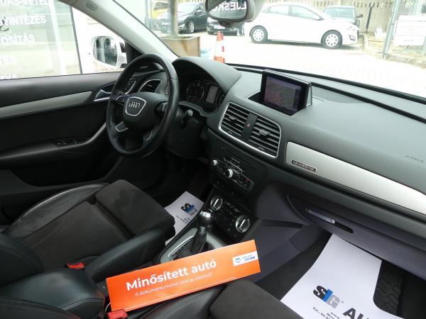 Audi  Q3 2.0 TDi  Quattro S-tronic, S Line,Bose,Pan.te,,Led,Navi,19Alu