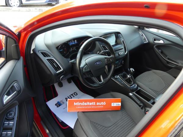 Ford Focus 2.0TDCi Red,Led,D.KLima,ŰL.Fű,Sport,Alu