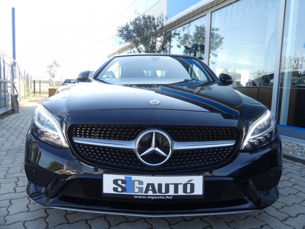Mercedes-Benz C 200d 9G-Tronic Led,Kamera,Sport,D.Klima,Űl.Fű